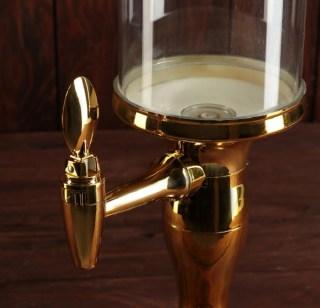 Диспенсер для пива «Башня Голд» с подсветкой и охлаждением  купить в Минске +375447651009