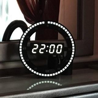 Дизайнерские электронные часы купить Минск