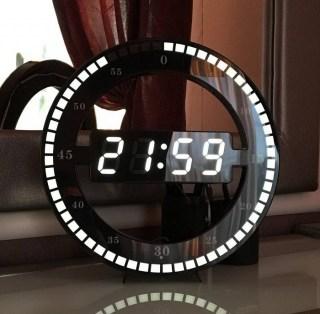 Дизайнерские cветодиодные часы «Modern» Минск