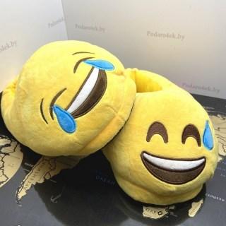 Домашние тапочки Emoji «Веселая парочка» купить в Минске +375447651009