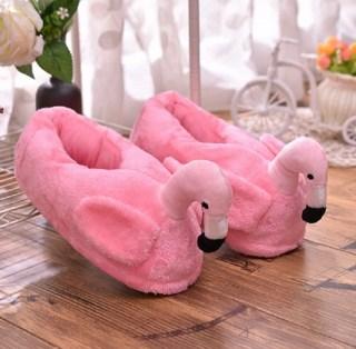 Домашние тапочки «Розовый фламинго» купить в Минске +375447651009