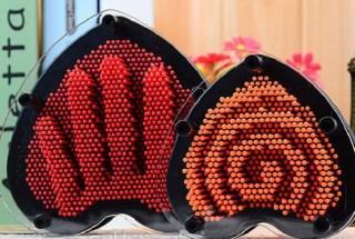 Экспресс-скульптор «Pin art» в форме сердца купить в Минске +375447651009