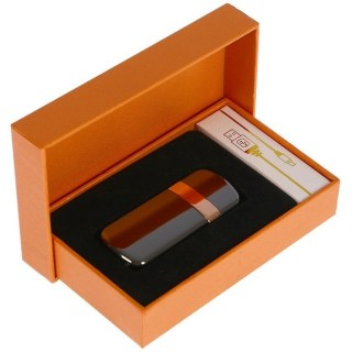 Электронная зажигалка USB «JINLUN» ченрый металлик Минск