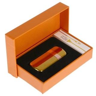 Электронная зажигалка USB «JINLUN» золотистая Минск +375447651009