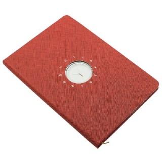 Ежедневник «Business» красный с часами купить в Минске +375447651009