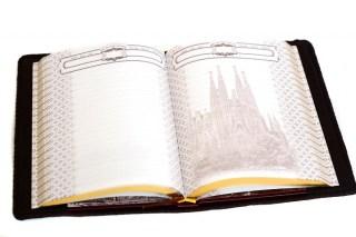 Ежедневник «Достопримечательности» в кожаной обложке купить в Минске +375447651009