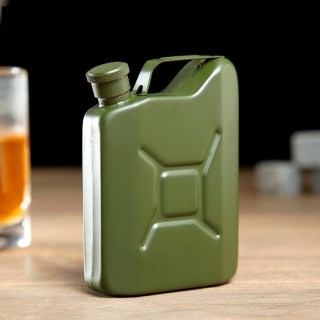 Фляжка-канистра зеленая 120 мл купить в Минске +375447651009