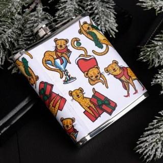 Фляжка подарочная «Год новый, а ты старая» 210 мл купить в Минске +375447651009