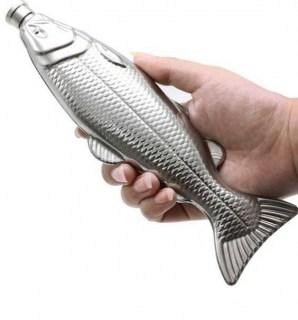 Фляжка металлическая Рыба Минск