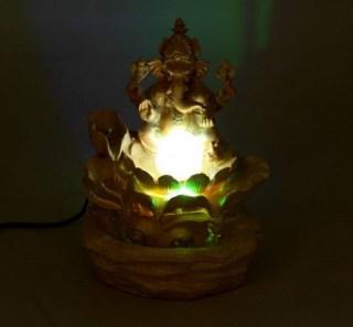 фонтан декоративный бог мудрости ганеша
