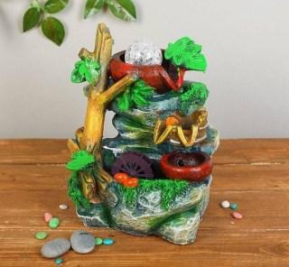 фонтан декоративный тропический лес купить в Минске +375447651009