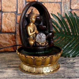 Фонтан декоративный «Будда в скале» купить в Минске +375447651009
