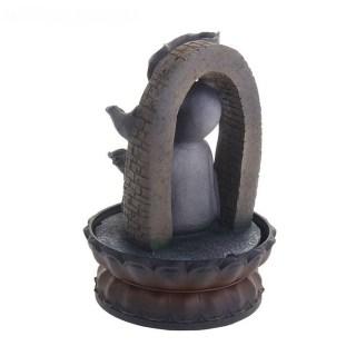Фонтан декоративный «Будда в цветочной арке» купить в Минске +375447651009