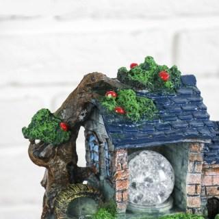 Фонтан декоративный «Дом с синей крышей» световой купить Минск +375447651009