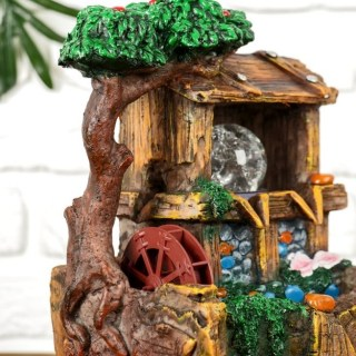 Фонтан декоративный «Дом у цветущего дерева» с подсветкой купить в Минске +375447651009