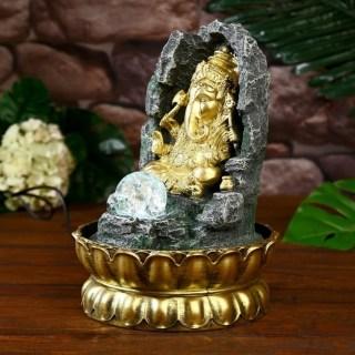 Фонтан декоративный «Ганеша у скалы» купить в Минске +375447651009