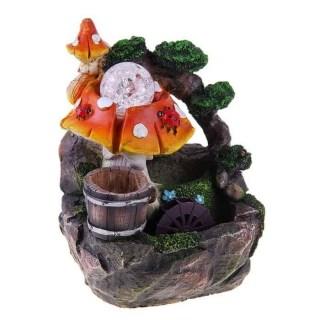 Фонтан декоративный 'Грибная поляна' световой купить в Минске +375447651009