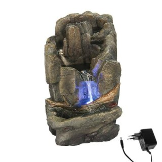 Фонтан декоративный «Каменная скала» световой купить