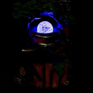 Фонтан настольный «Красный кувшин» с подсветкой Минске +375447651009