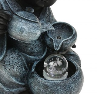 Фонтан декоративный «Маленький Будда» световой купить в Минске +375447651009