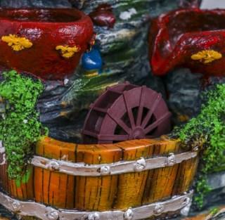 Фонтан декоративный «Мельница у водопада» световой купить Минск +375447651009