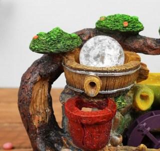 Фонтан декоративный «Мельница в лесу» световой купить в Минске +375447651009