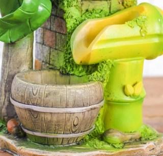 Фонтан декоративный «Пальма» с подсветкой купить в Минске +375447651009