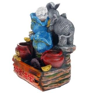 Фонтан декоративный «Слон с золотом» купить Минск +375447651009