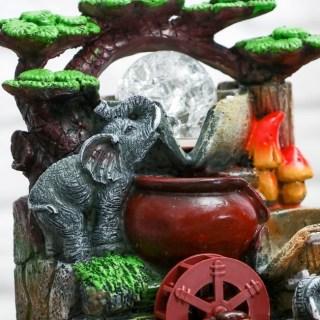 Фонтан декоративный «Слоны у ручья» купить в Минске +375447651009