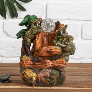 Фонтан декоративный «Слоны в Африке» купить в Минске +375447651009