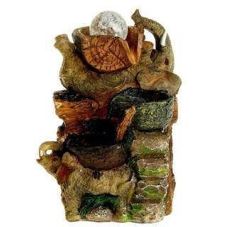 Фонтан декоративный «Слонята отдыхают» купить в Минске +375447651009