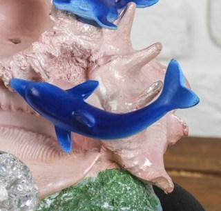 Фонтан декоративный «Стая дельфинов» с подсветкой купить Минск +375447651009