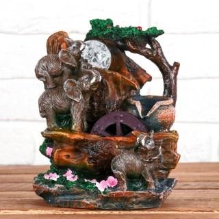 Фонтан декоративный «Три слона» купить в Минске +375447651009