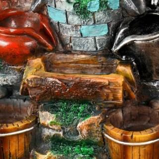 Фонтан декоративный «Усадьба» с подсветкой купить в Минске +375447651009