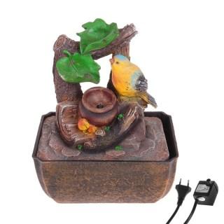 Фонтан декоративный «Воробушек на ветке» световой купить в Минске +375447651009