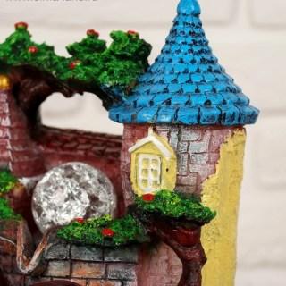 Фонтан декоративный «Замок» с подсветкой купить в Минске +375447651009