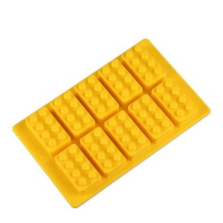 Формочки для льда «Лего» 10 шт. цвет: микс купить в Мигнске +375447651009