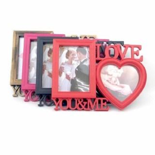 Фоторамка на 2 фото «You and me» цвет: микс купить в Минске +375447651009