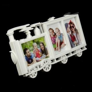 Фоторамка на 3 фото «Паровоз» купить в Минске +375447651009