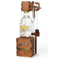 Головоломка на бутылку «100% мужик» купить Минск