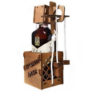 Головоломка на бутылку «Лучший папа» купить Минск