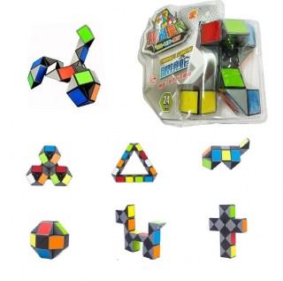 Головоломка «Змейка цветная» 24 сегмента  купить Минск +375447651009