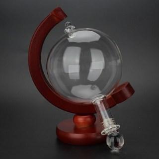 Графин для спиртного «Глобус» на деревянной подставке купить Минск +375447651009