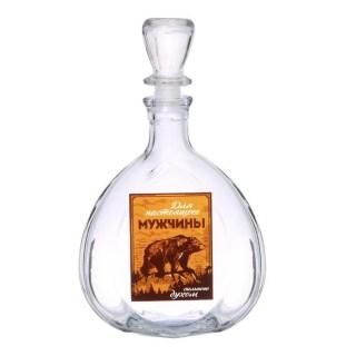 Графин-штоф «Медведь» 0,5 л. купить в Минске +375447651009
