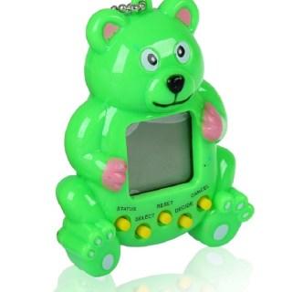 Игра тамагочи «Мишка» зеленый купить в Минске +375447651009