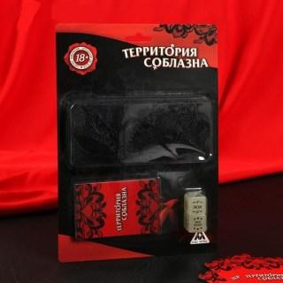 Игра «Территория соблазна»: карты, маска, кубики купить в Минске +375447651009
