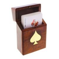 Игральные карты в шкатулке «Масть» купить в Минске +375447651009