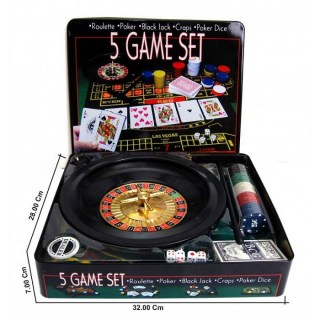 Игровой набор «Казино» 5 в 1 купить в Минске +375447651009