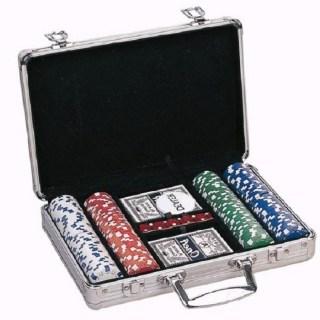 Игровой набор «Покер» 200 фишек в металлическом кейсе купить в Минске +375447651009