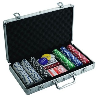 Игровой набор «Покер» 300 фишек в металлическом кейсе  купить в Минске +375447651009